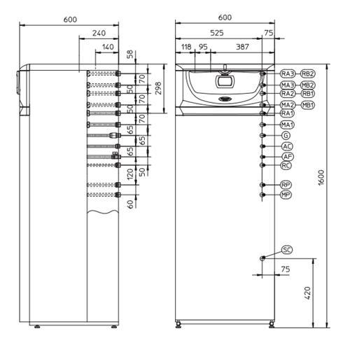 Газовый конденсационный котёл Immergas Hercules Condensing ABT 32 3 ErP